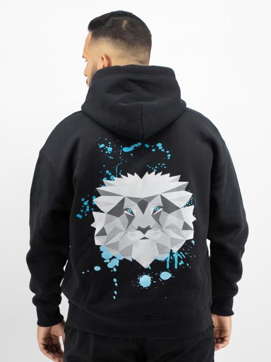 Hoodie Lion Back